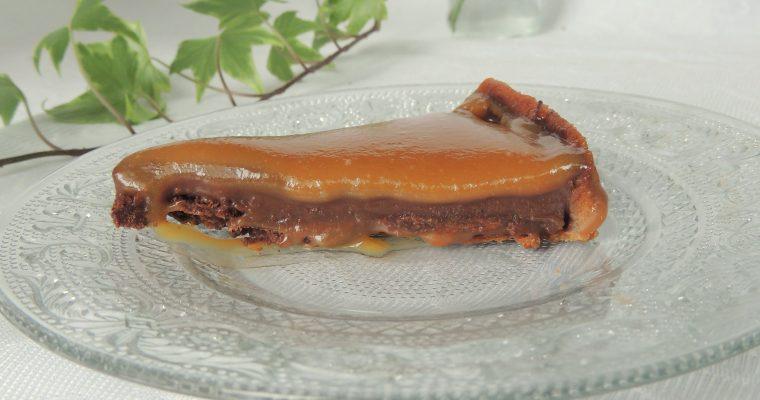 Tartelettes gourmandes chocolat caramel – Caramel chocolate pie