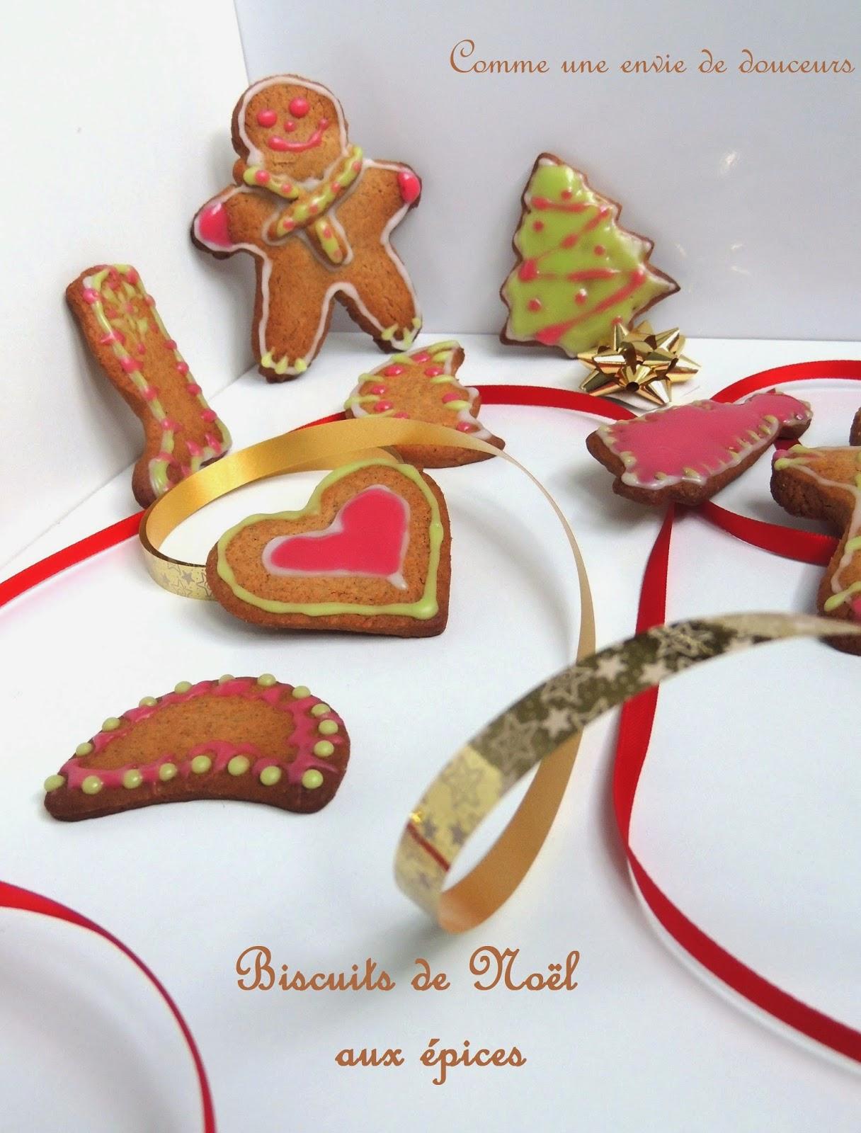 Biscuits de Noël aux épices / Xmas spicy cookies