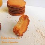 Palets bretons à la farine d'épeautre, miel & amandes – Honey, spelt & almonds brittanny biscuits
