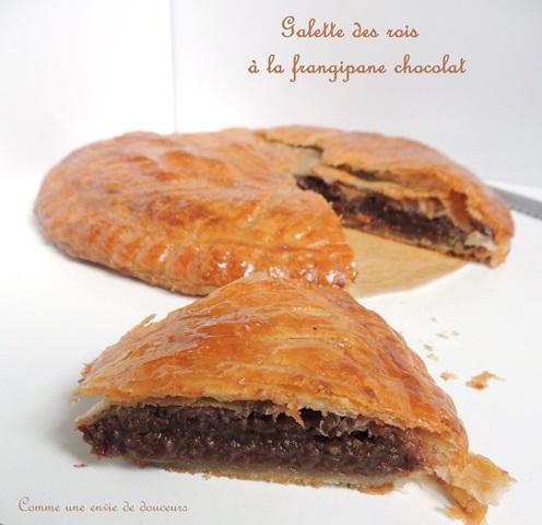Galette des rois chocolat – Chocolate Twelfth night cake