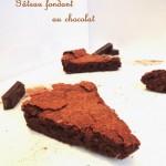 Gâteau fondant aérien au chocolat – Melting and airy chocolate cake