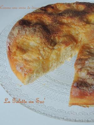 La galette au suc' – Sugar pie