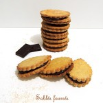 Biscuits sablés fourrés comme des Princes – Chocolate stuffed biscuits