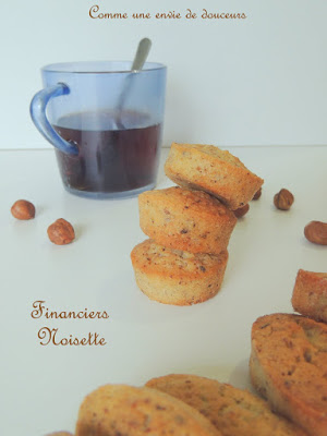 "Financiers noisette – Halzelnut ""financiers"""