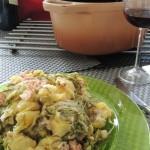 """""""Dossier recettes ardennaises"""" La salade au lard"""