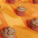 Cupcakes caroube praliné