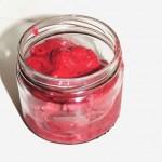 Glace minute aux fruits rouges