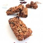 Barres de céréales – Cereal bars
