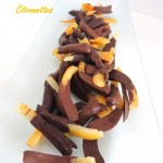 Orangettes & citronettes – Candied orange & lemon peels with chocolate