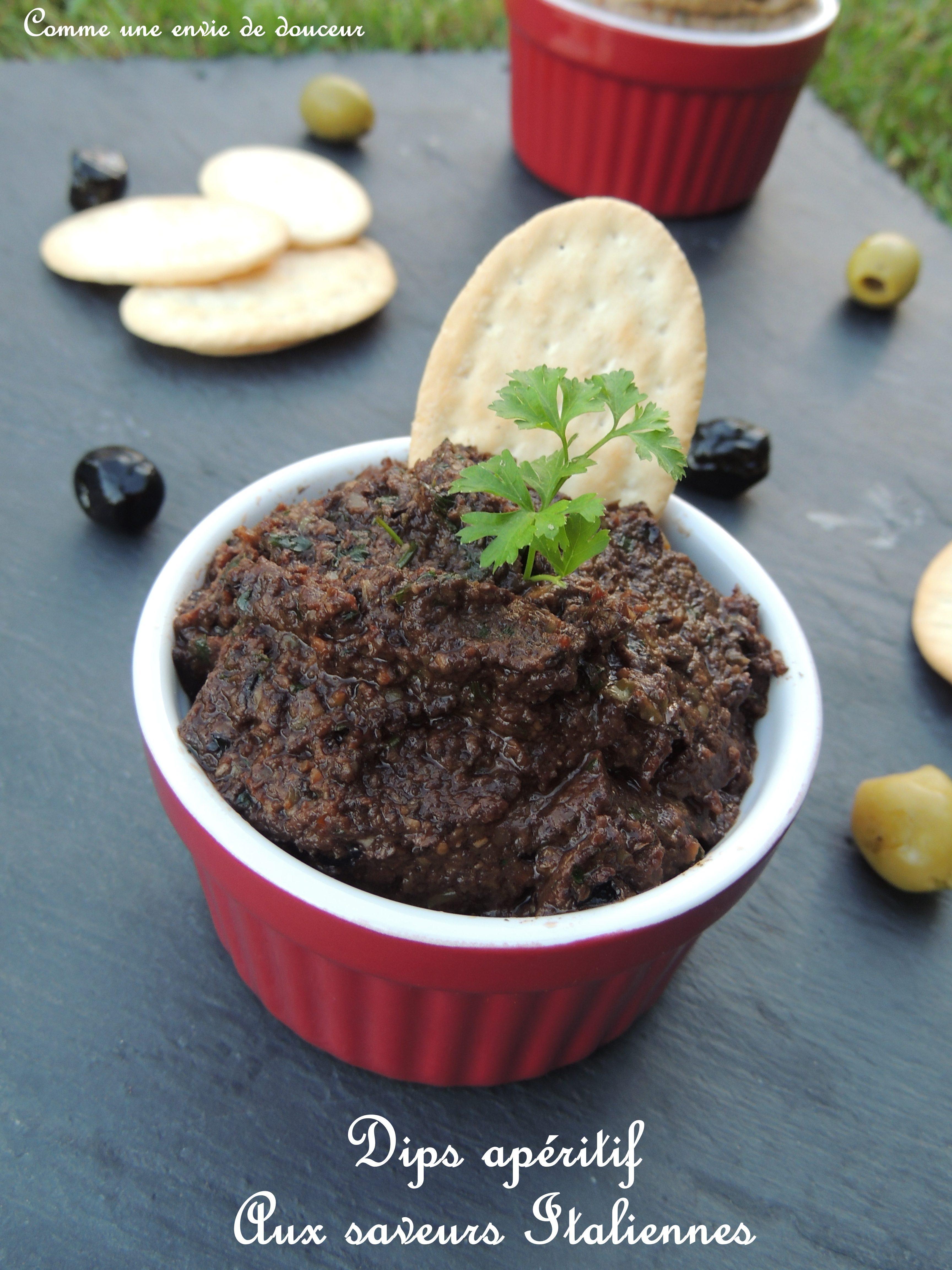 Dips apéritifs aux saveur Italiennes - Aperitif dip's, Italian flavors