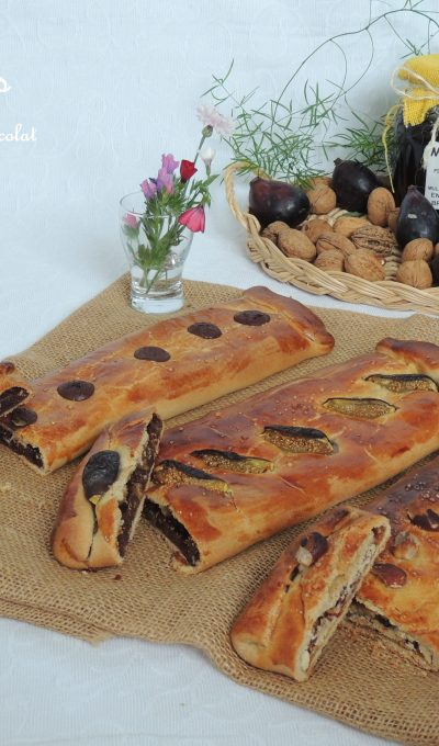 Dobladillos figue,amande ou chocolat – Dobladillos filled with fig, chocolate or almond