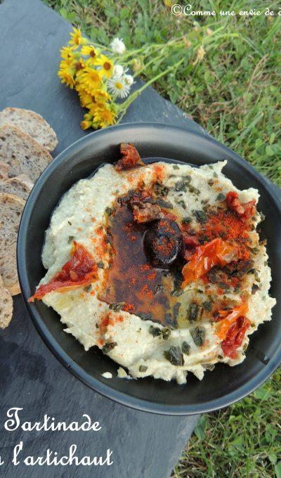 Tartinade d'artichaut – Artichoke spread