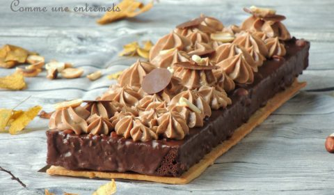 Brownie comme un entremets - Better than a brownie