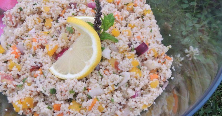 Taboulé aux légumes – Veggie tabouleh