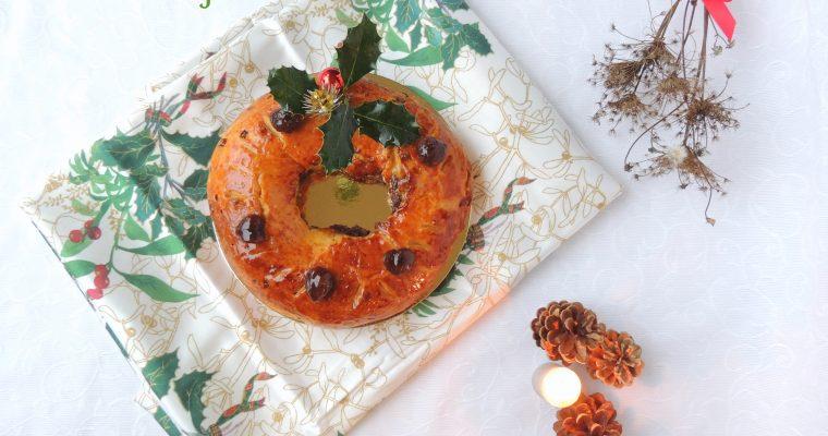 Brioche des rois au marron & myrtilles – Epiphany's brioche,chestnut & blueberry