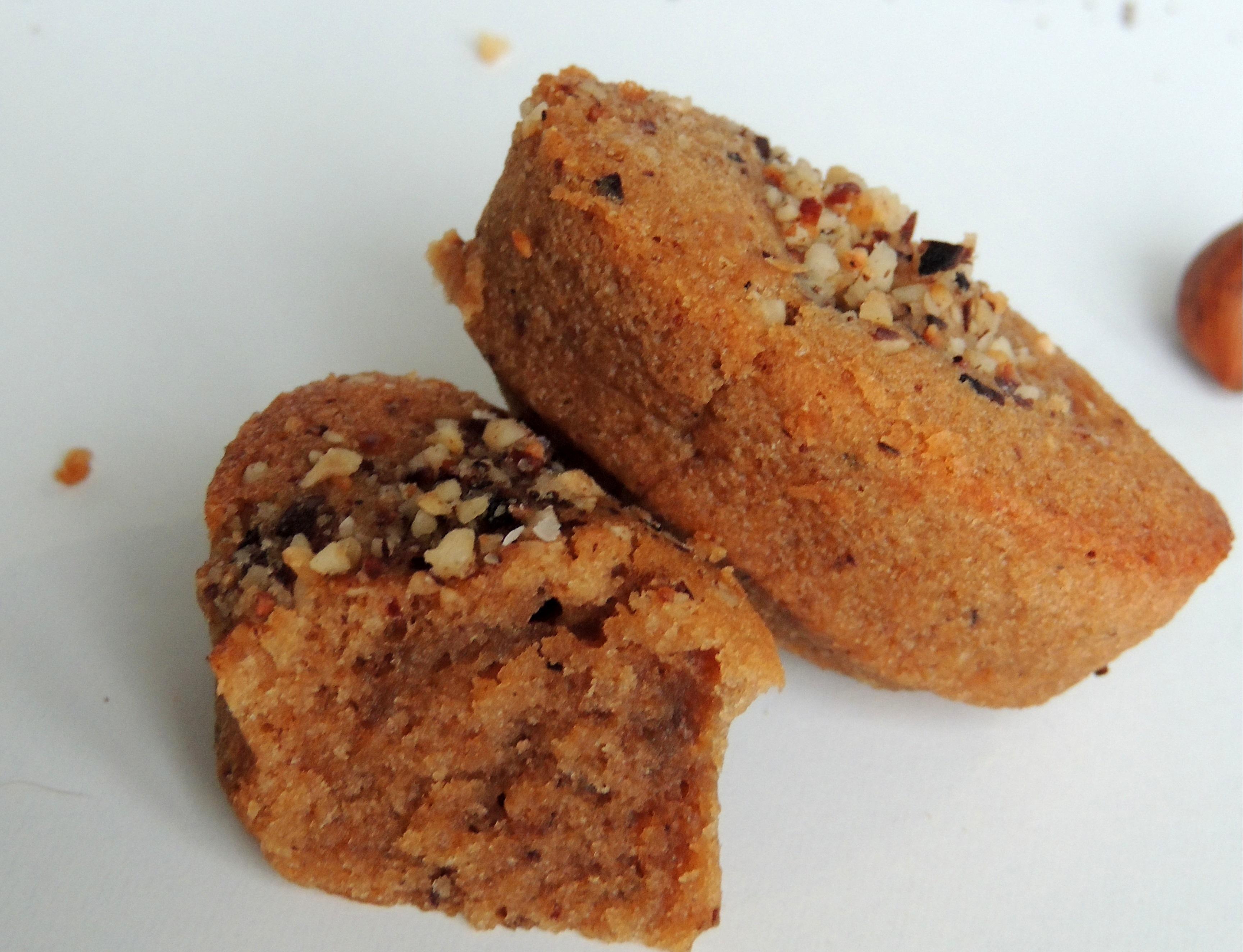 Minis fondants à la noisette & café – Minis molten cakes hazelnut & coffee