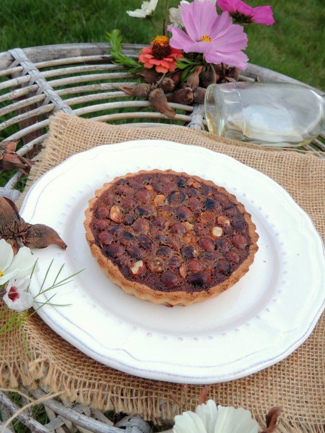 Tartelettes noisette caramel au sirop d'érable - Hazelnut & maple caramel pies