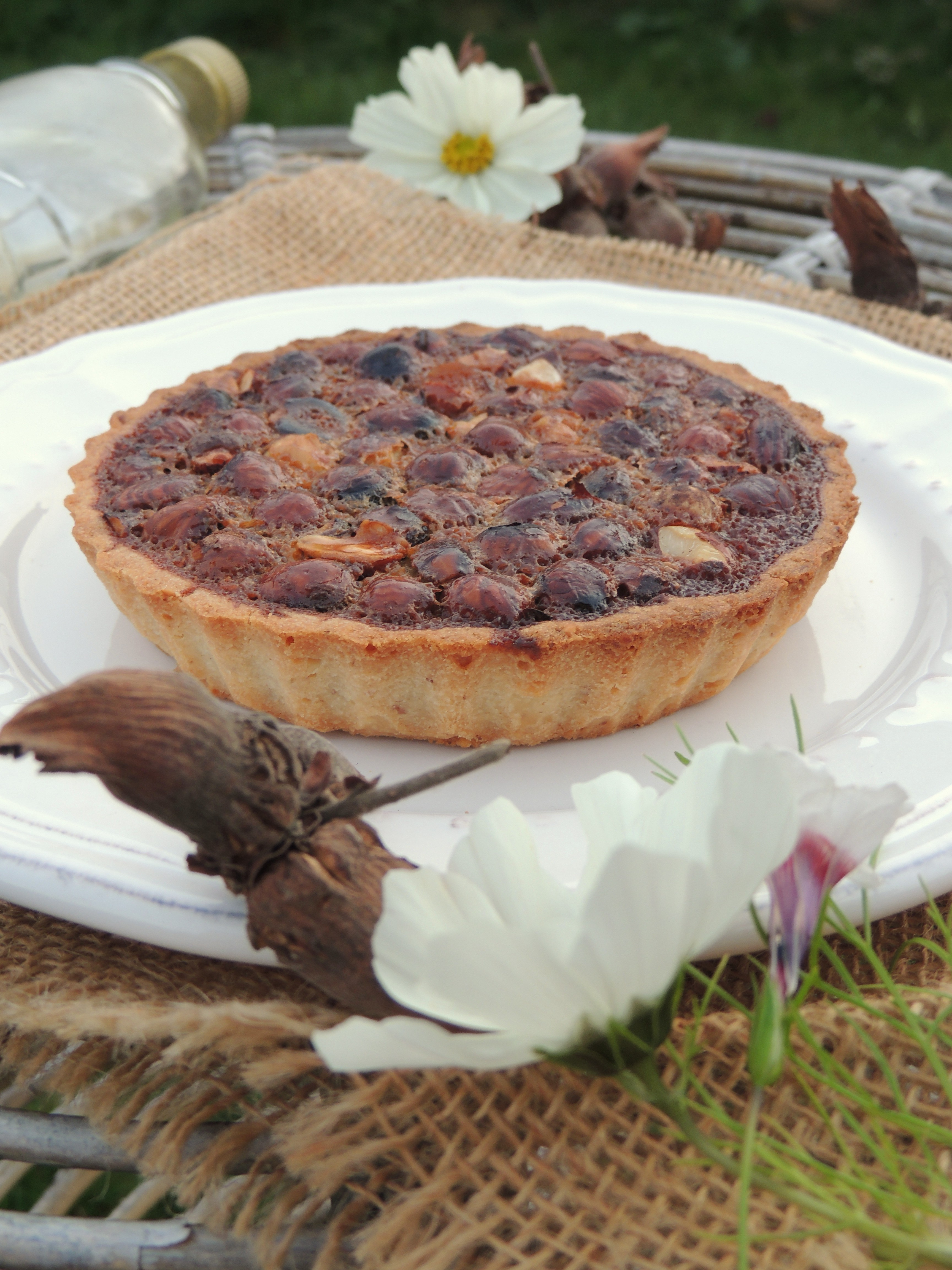 Tartelettes noisette caramel au sirop d'érable – Hazelnut & maple caramel pies