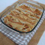 #58 Battle Food – Gratin de crêpes fourrées aux pommes & sauce crémeuse caramel de jus de pomme – Crepes filled with apple & apple juice caramel
