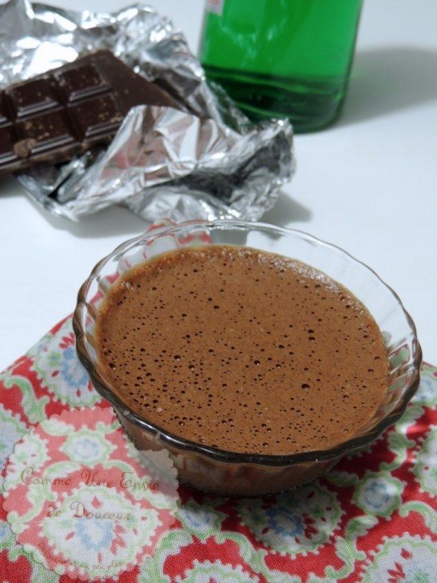 Mousse chocolat absinthe
