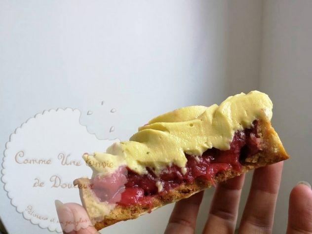 Tarte fraise verveine