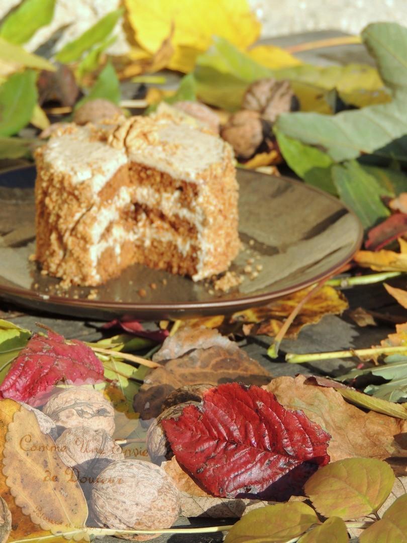 cake noix café