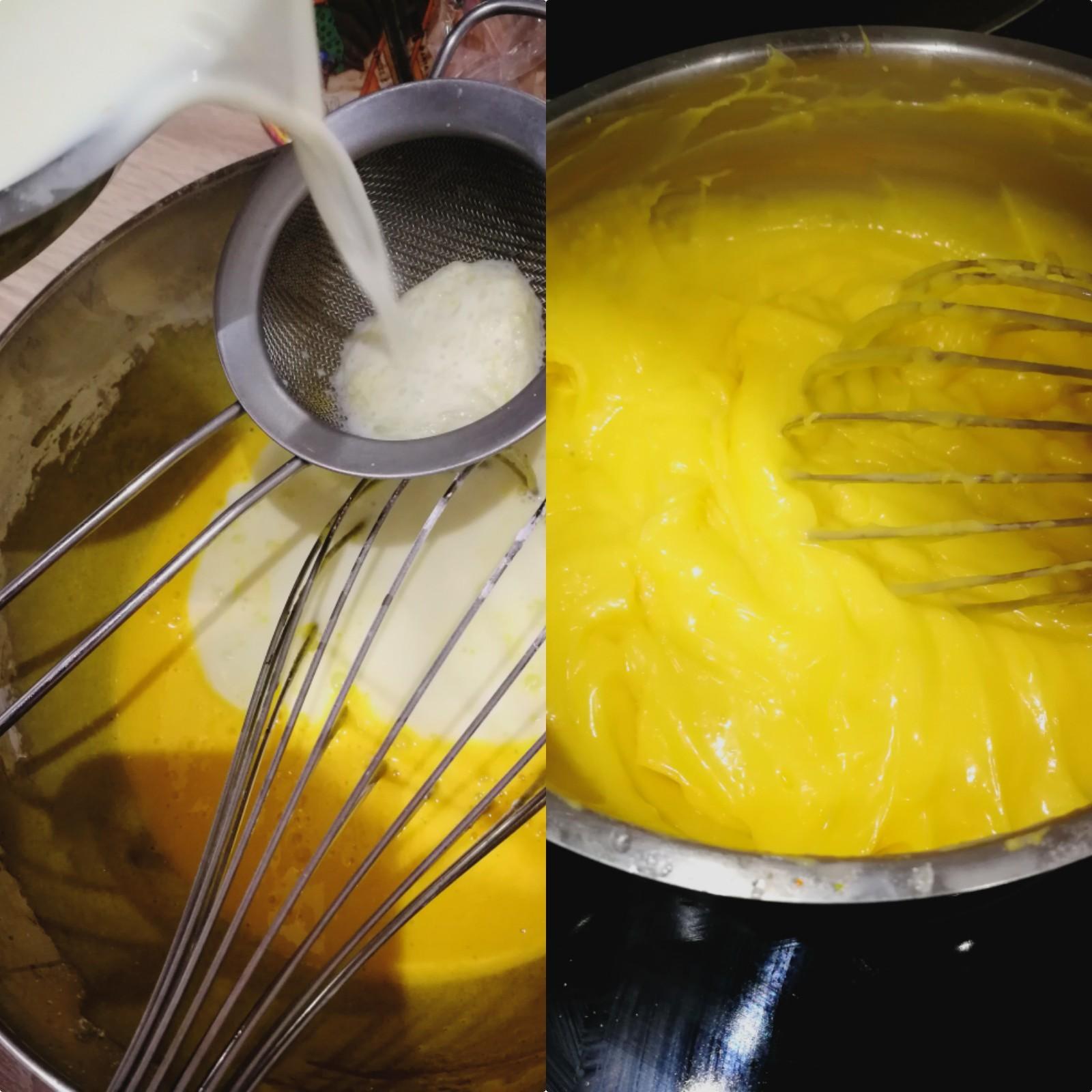 crème pâtissière clémentine