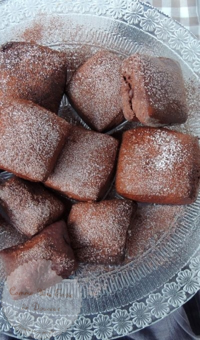 Beignets choco addicts ~ Chocolate addict donuts