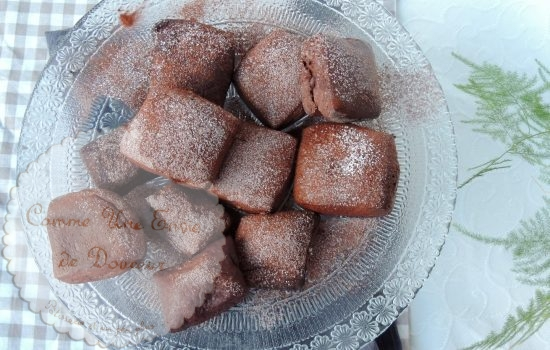 Beignets choco addicts ~ Chocolate addict donuts