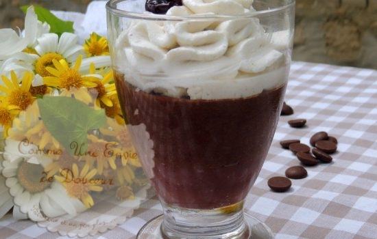 Mousse chocolat liégeoise aux parfums de forêt noire