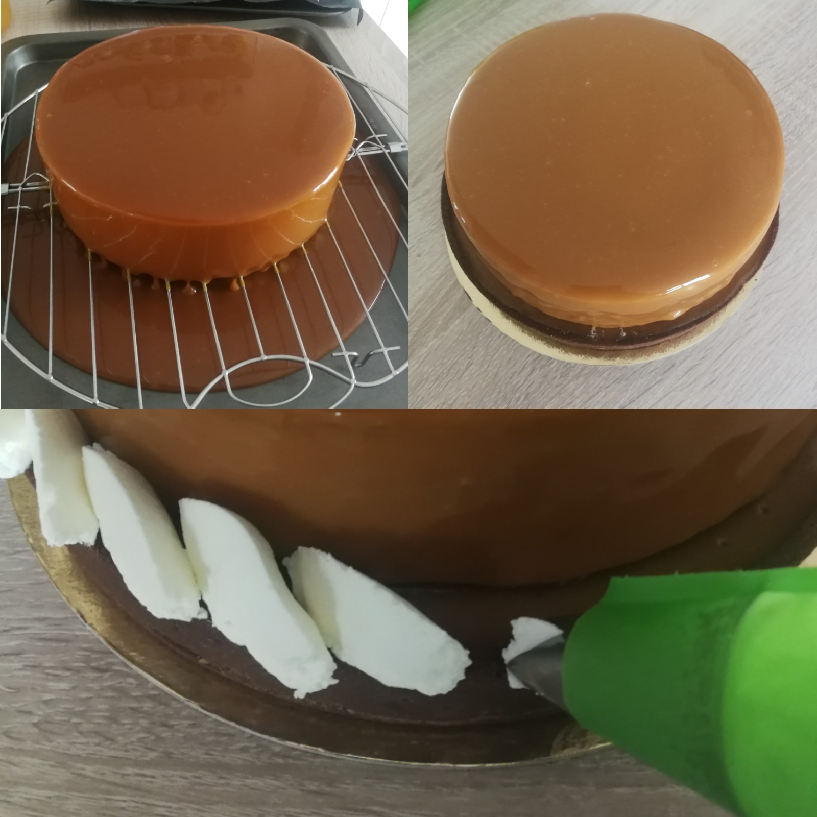 entremets irish coffee