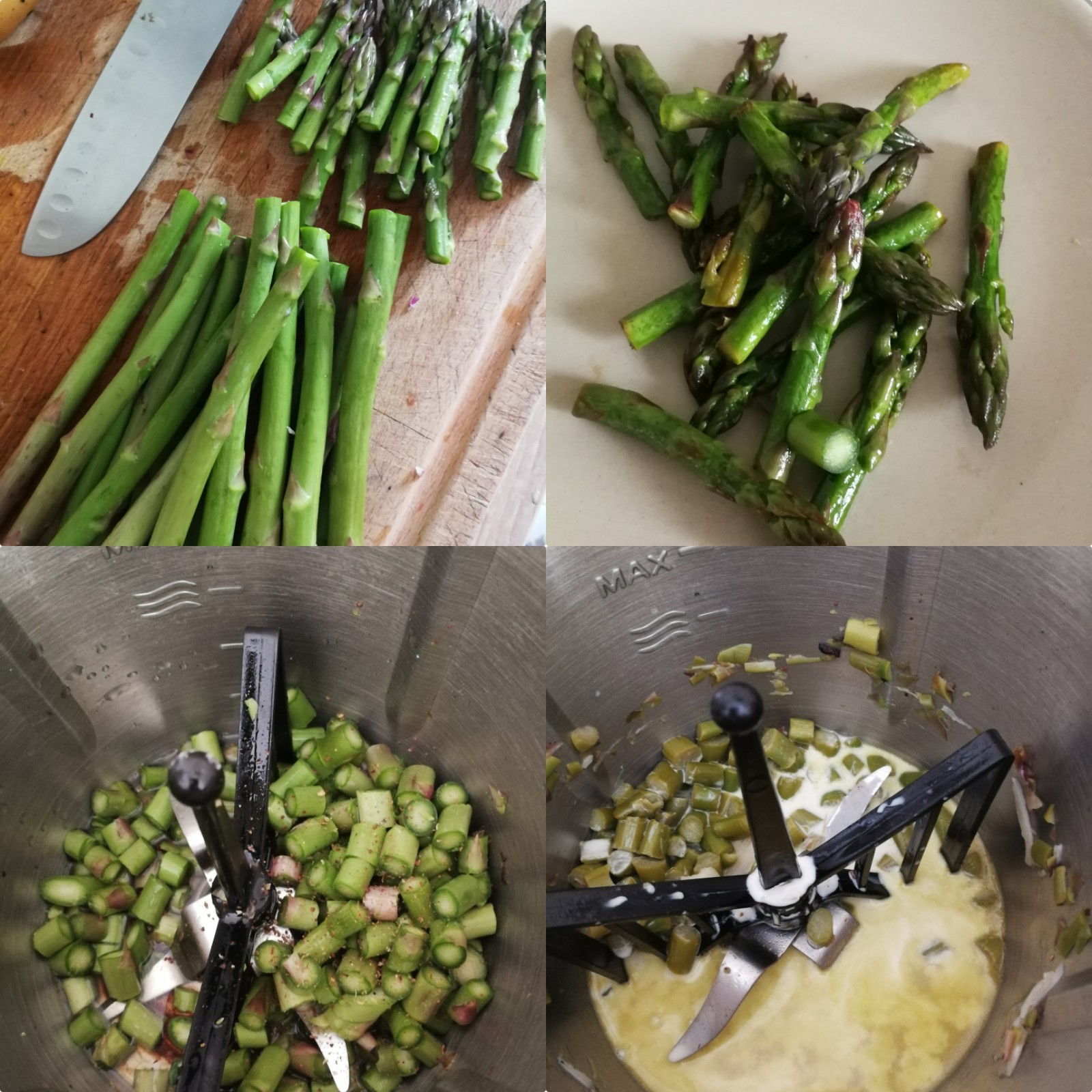 canderli épinards asperge