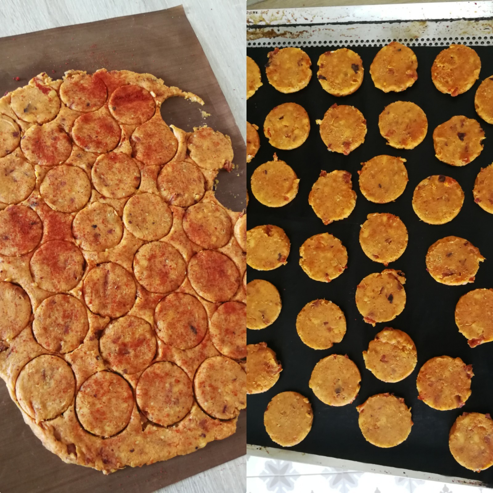 biscuits paprika