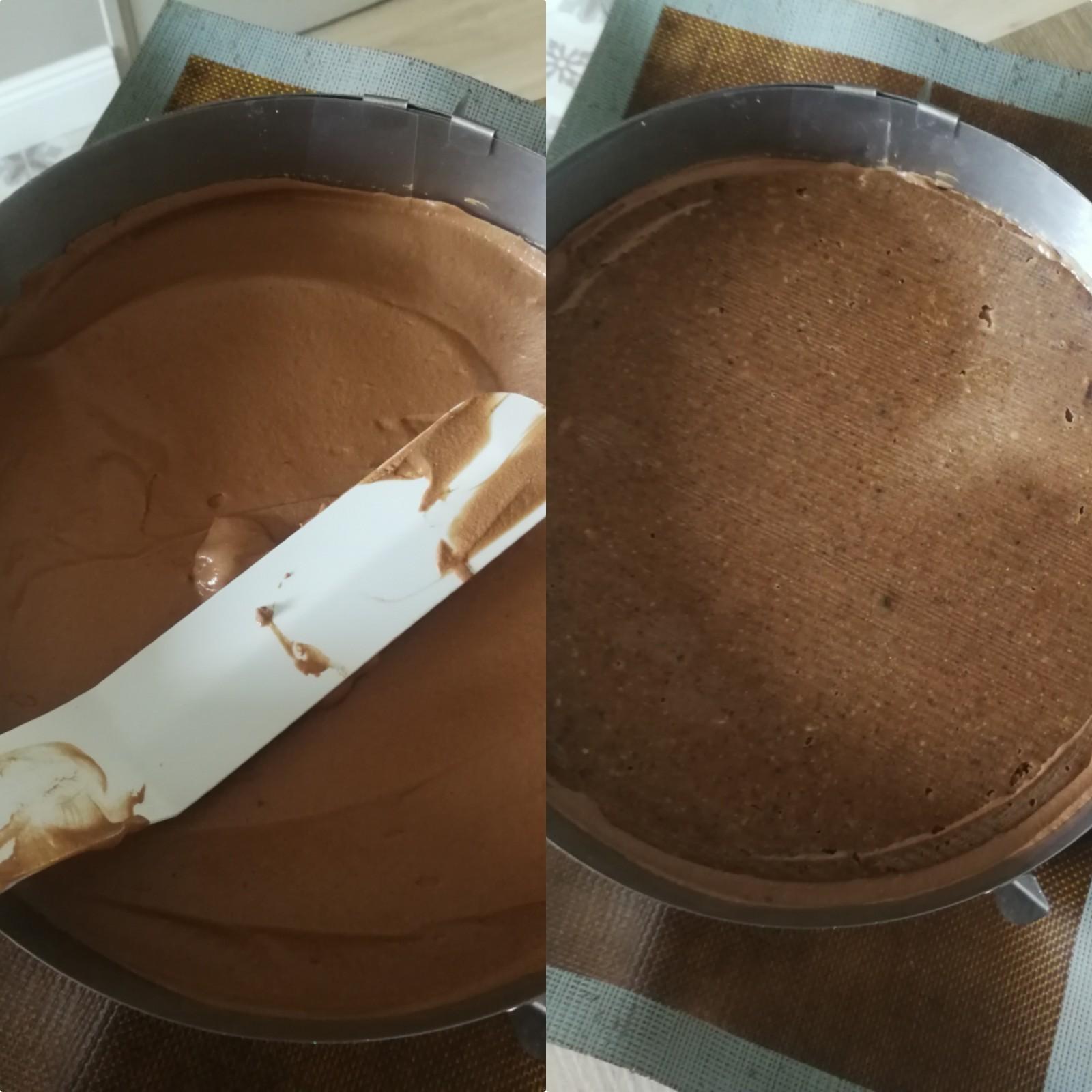 entremets symphnie chocolat noir crème brulée