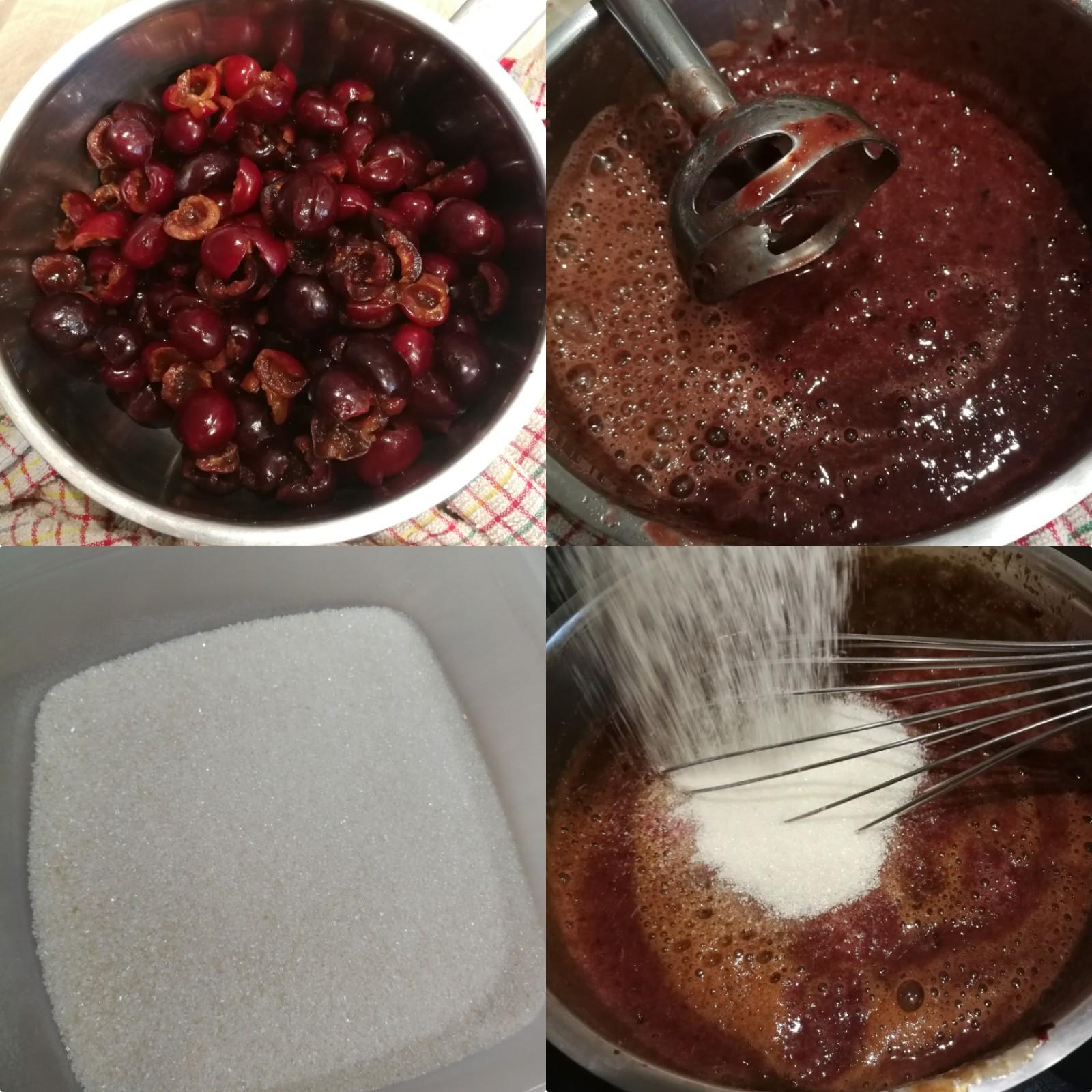 tartelettes pistache cerise