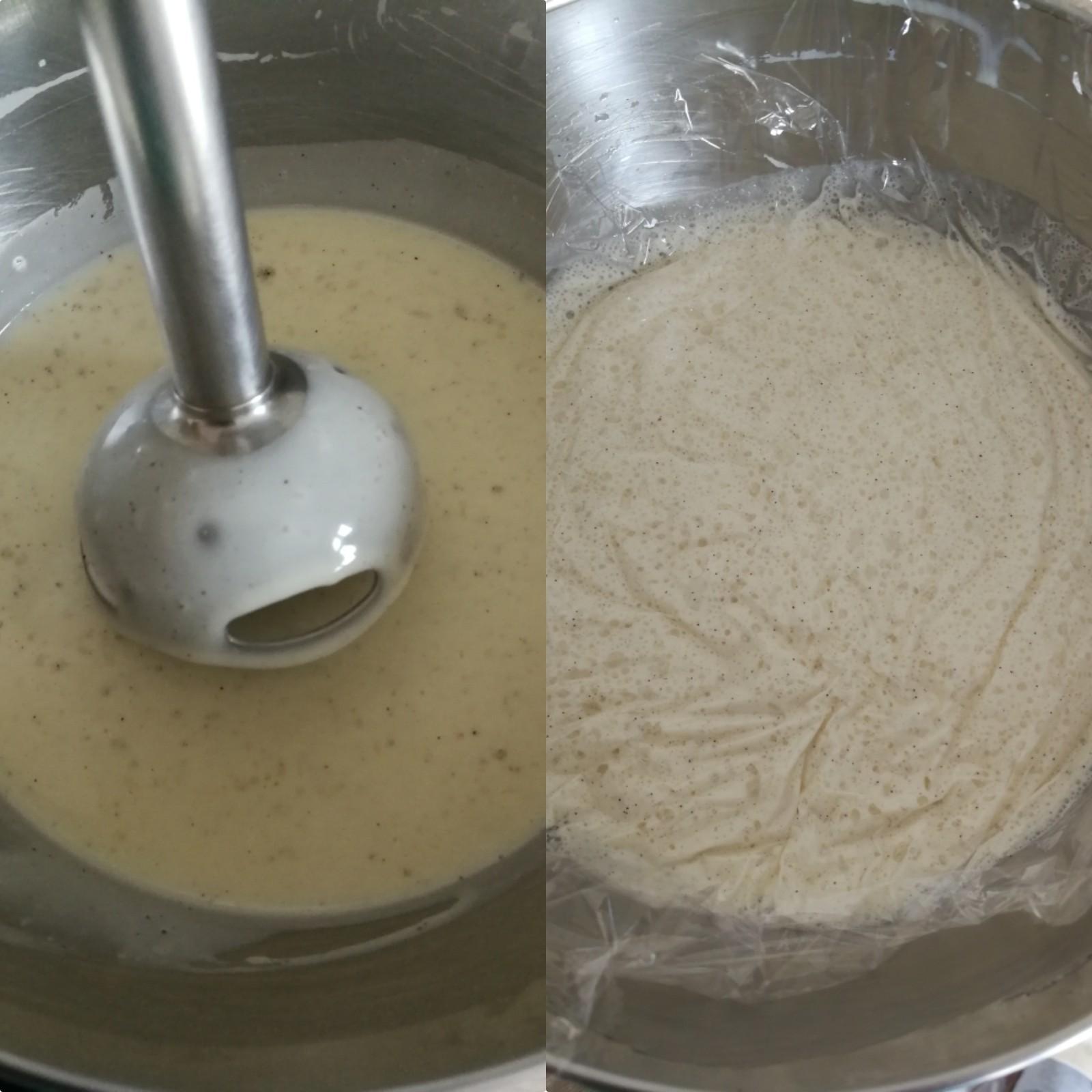 ganache montée vanille