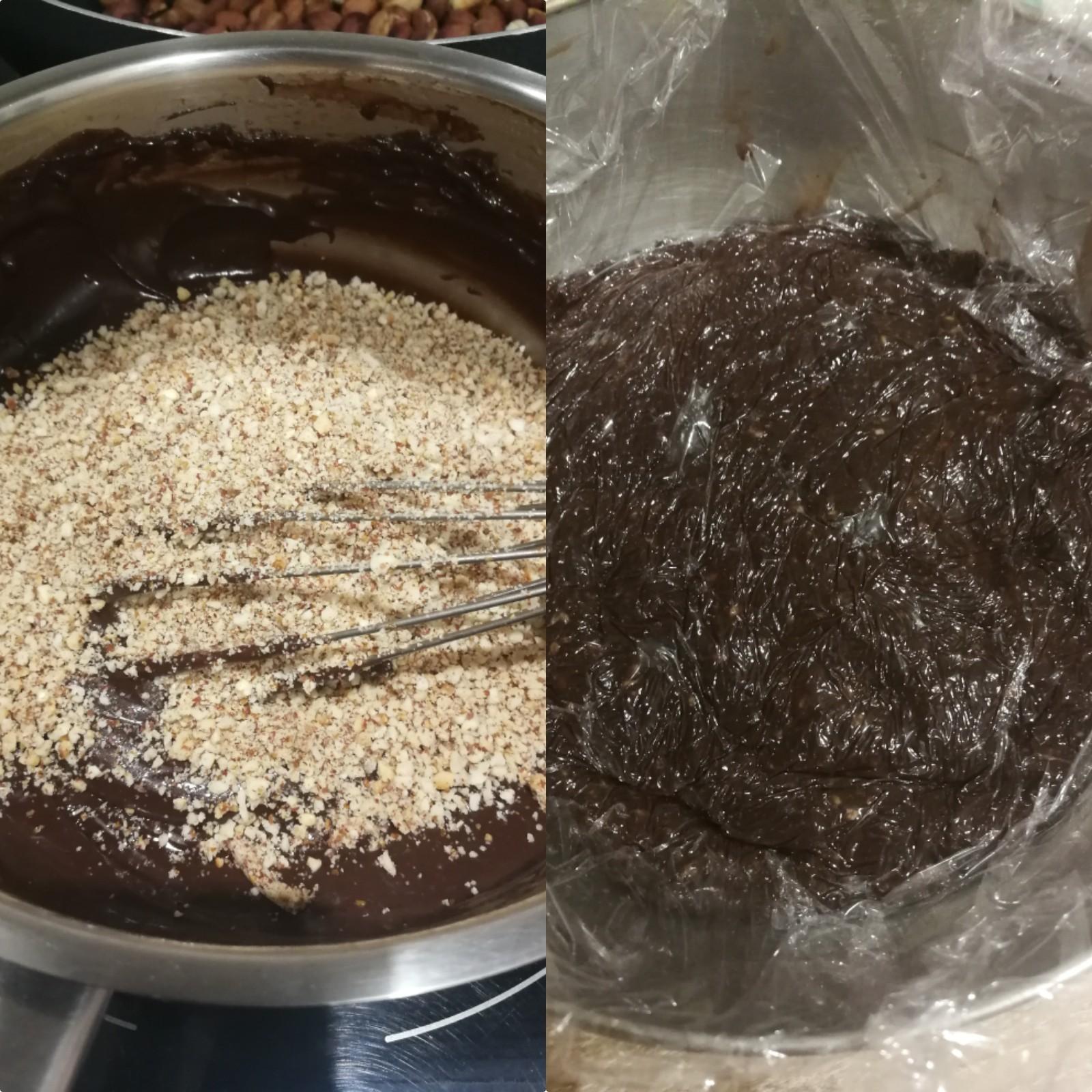 frangipane chocolat cacahuète