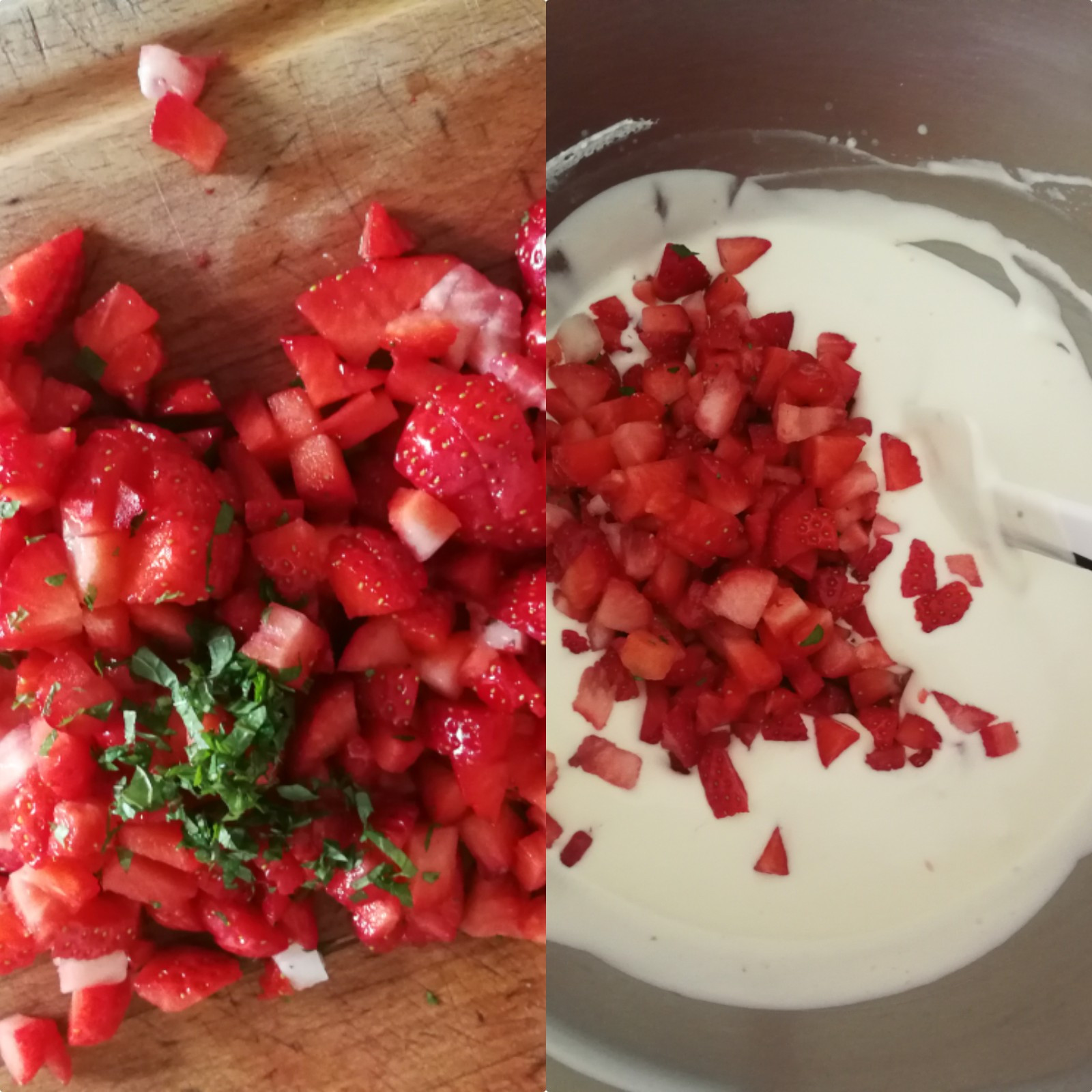 mousse fromage blanc