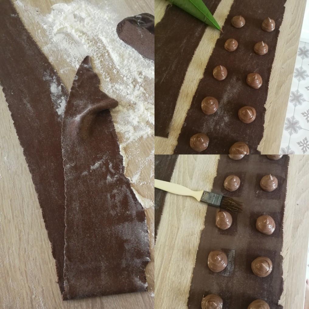ravioles cacao