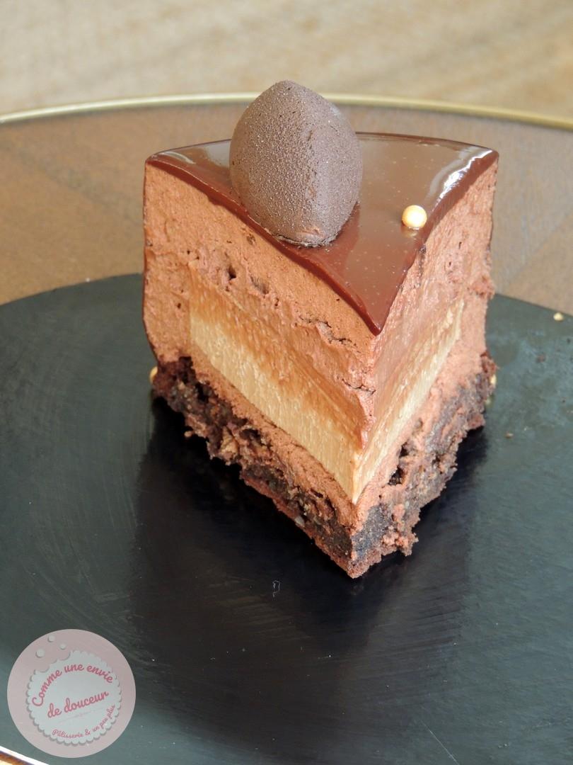 entremets chocolat