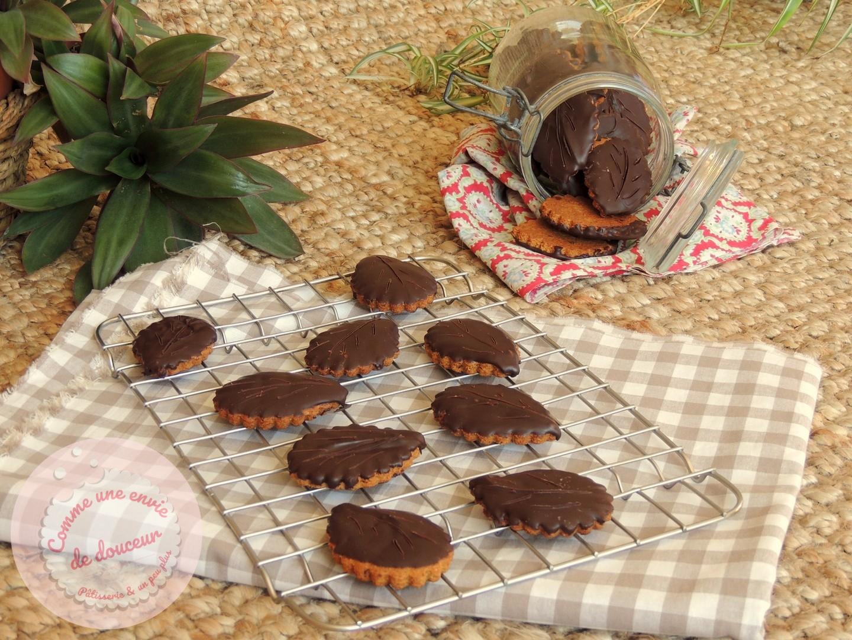 """Biscuits """"façon granola"""" à l'huile d'olive & chocolat"""