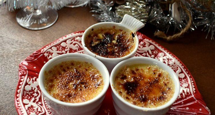 Amuse bouche ~ Crème brûlée gorgonzola