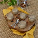 Petits pots de crème dessert ~ Noisette & tonka