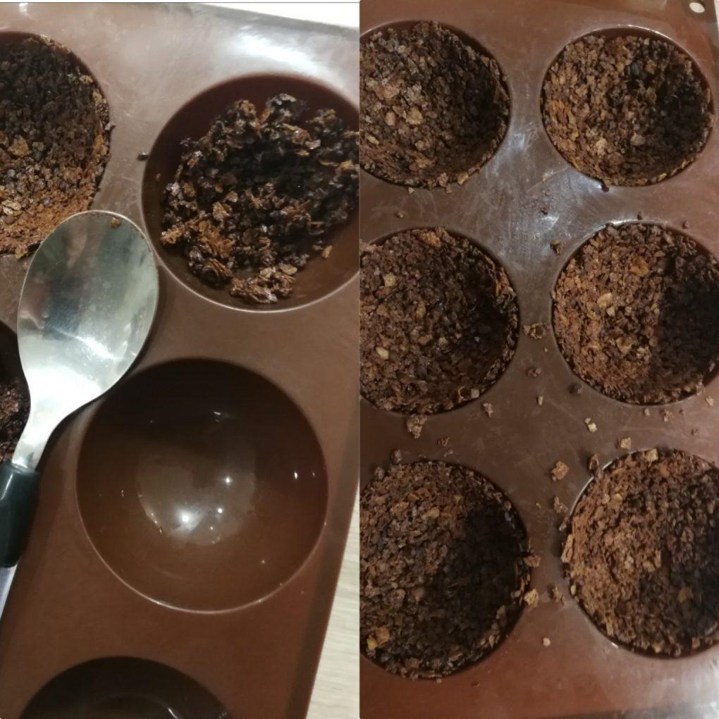 Croustillant praliné au grué de cacao