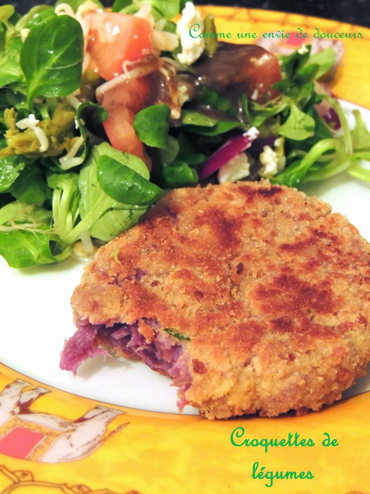 Croquettes de légumes –  Veggie patties