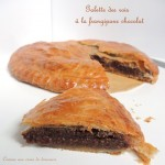 Galette des rois chocolat – Chocolate Twelfth night cake