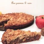 Cake aux pommes & aux noix – Apple & walnut cake