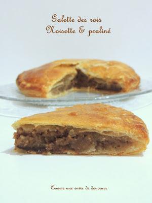 Galette des rois frangipane noisette – Hazelnut King's cake