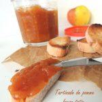 Tartinade de pommes façon Tatin – apple spread as a « Tatin »