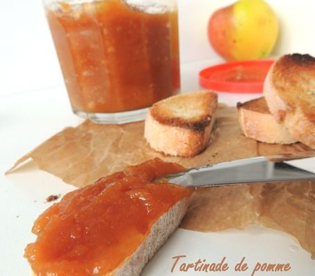 Tartinade de pommes façon Tatin – apple spread as a « Tatin »